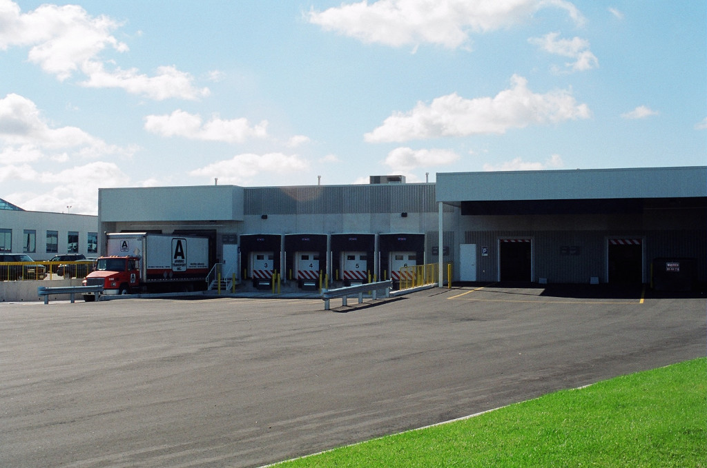 North Brampton Postal Sorting Facility Loading Docks