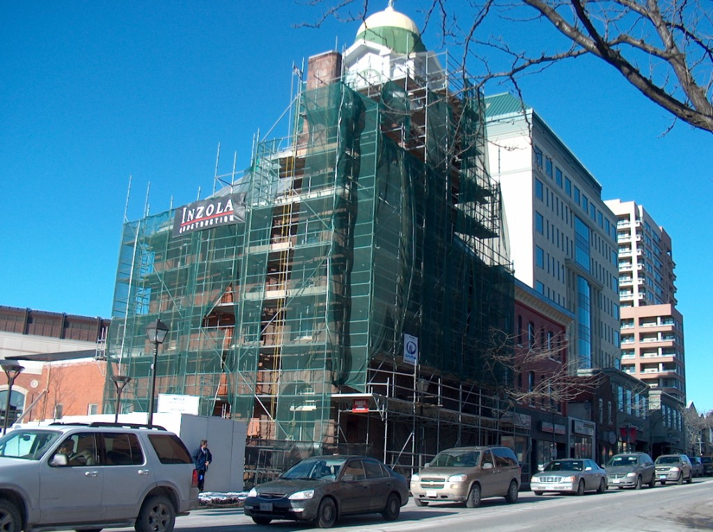 Dominion Building Under Construction