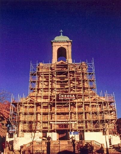 Holy Name Roman Catholic Church Under Construction