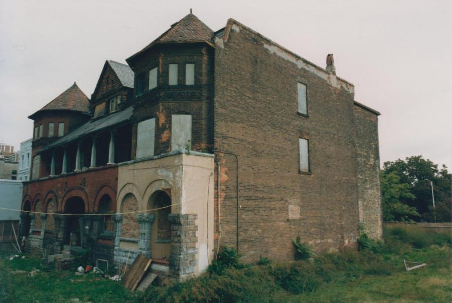 Jarvis Houses Before Construction